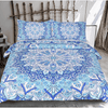 Floral Sky Blue Mandala Bed Set Bedding covers BeddingOutlet Single