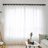 Fresh Stripe Tulle Soft Curtains Window Curtain CITYINCITY W100 x H250CM ROD POCKET
