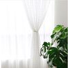 Fresh White Transparent Curtains For Living Room Window Curtain CITYINCITY