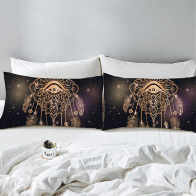 Galaxy Dreamcatcher Luxury Bedding Set Bedding covers BeddingOutlet