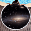 Galaxy Large Round Beach Towel Beach/Bath Towel BeddingOutlet Diameter 150cm
