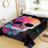 Geometric Skull Floral Bed Sheet Bedding Covers Sheets BeddingOutlet Twin