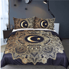 Gold Star Mandala BedSet Bedding covers BeddingOutlet Single