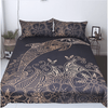 Golden Dolphins Bedding Flower Set Bedding covers BeddingOutlet AU Single