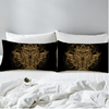 Golden Owl Pillow Case Pillowcases BeddingOutlet 50cmx75cm
