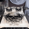 Gothic Skull Bedding Set Bedding Cover Set BeddingOutlet Single