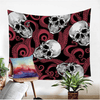 Gothic Wall Hanging Red Tapestry Tapestry BeddingOutlet 130x150cm