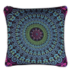 Green Bohemian Concealed Cushion Cover Cushion Cover BeddingOutlet 45cmx45cm