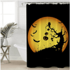 Happy Halloween Shower Curtain Shower Curtains BeddingOutlet 90x180cm