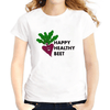 Happy Healthy Beet Women T-Shirts Women T-Shirts JollyPeach S