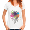 Indians Dreamcatcher Casual Women T-Shirts Women T- Shirts JollyPeach S