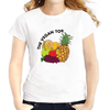 Jollypeach Breathable White Casual Women T-Shirts Women T-Shirts JollyPeach S