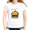 Jollypeach Hamburger Casual Women T-Shirts Women T-Shirts JollyPeach S