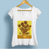 Jollypeach Sunflowers Casual Women T-Shirts Women T-Shirts JollyPeach