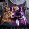 Lion Dreamcatcher Bedding Set Bedding Set BeddingOutlet Single