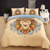 Lion Printed Floral Quilt Cover Bedding covers Svetanya Single