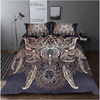 Lotus Bohemian Bedding Set With Print Bedding covers BeddingOutlet Single