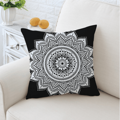 Mandala Cushion Cover Floral Cushion Cover BeddingOutlet 45cmx45cm