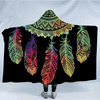 Mandala Dreamcatcher Hooded Blanket Hooded Blanket BeddingOutlet Adults 150(H)x200(W)