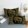 Mandala Elephant Duvet Covers Set Bedding covers BeddingOutlet