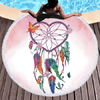 Mandala Tassel Round Towel Beach/Bath Towel BeddingOutlet Diameter 150cm