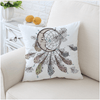 Moon Dreamcatcher Cushion Cover Cushion Cover BeddingOutlet 45cmx45cm