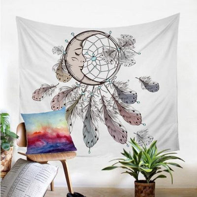 Moon Dreamcatcher Tapestry Tapestry BeddingOutlet 130x150cm