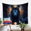 Moon Eclipse Decorative Wall Hanging Tapestry BeddingOutlet 130x150cm