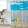 Ocean Starfish Shower Curtain Shower Curtains BeddingOutlet 90x180cm