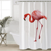 Pink Flamingo Shower Curtain Shower Curtains BeddingOutlet 90x180cm