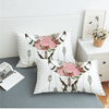 Pink Flower Pillowcase Pillowcases BeddingOutlet 50cmx75cm