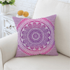 Pink Mandala Flower Cushion Cover Cushion Cover BeddingOutlet 45cmx45cm