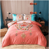 Pink Mandala Print Bedding Set Bedding Set Svetanya Single