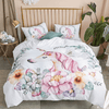 Pink Unicorn Floral Quilt Cover Bedding covers Svetanya Single