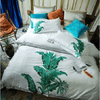 Plantain Embroidered Luxury Bed Set Embroidered Bed Set Svetanya AU single