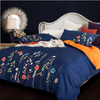 Plants Emboridery Bedlinen Embroidered Bed Set Svetanya Single
