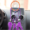 Purple Ethnic Dream Catcher Wind Chime Dream Catcher Wind Chimes NAI YUE 11*45cm