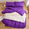 Purple Plain Duvet Bedclothes Bedding covers SOLSTICE AU Single