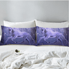 Purple Unicorn Animal Pillow Case Pillowcases BeddingOutlet 50cmx75cm
