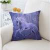 Purple Unicorn Cushion Cover Cushion Cover BeddingOutlet 45cmx45cm