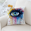 Rainbow Fire Cold Art Cushion Cover Cushion Cover BeddingOutlet 45cmx45cm