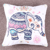 Rainbow Mandala Elephant Cushion Cover Cushion Cover BeddingOutlet 45cmx45cm