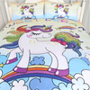 Rainbow Unicorn Bedding Set Bedding Cover Set BeddingOutlet