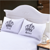 Royal Crown Queen Pillow Cases Pillowcases BeddingOutlet 50cmx75cm