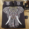 Royal Floral Elephant Bedding Set Bedding covers Svetanya Single