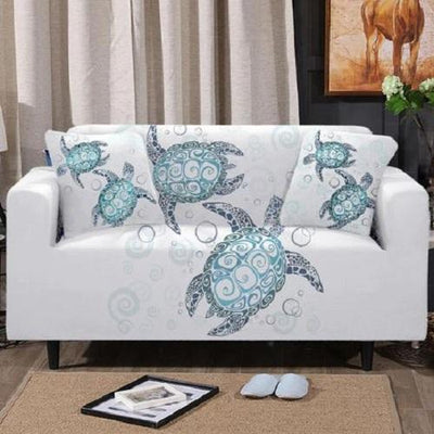 Sea Turtles Sofa Cover Sofa Covers BeddingOutlet 1-Seater
