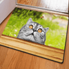 Shocked Cute Cat Floor Carpets Door & Floor Mats HUGSIDEA 400mm x 600mm