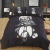 Skull Rider Bedding Set Bedding covers Svetanya Single