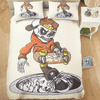 Skull Skating Duvet Cover Set Bedding covers Svetanya Single
