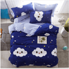 Smiling Clouds Bed Sheet Duvet Cover Bedding covers SOLSTICE AU Single